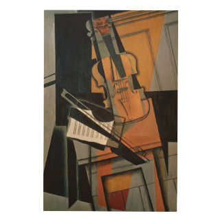The Violin, 1916 Wood Print