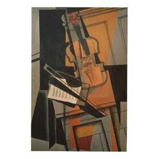 The Violin, 1916 Wood Prints
