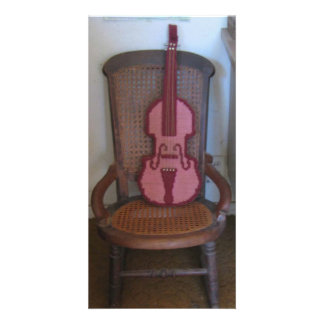 The Violin And The Rocking Chair Photo Card