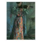 The violin player by Lovis Corinth Postcard
