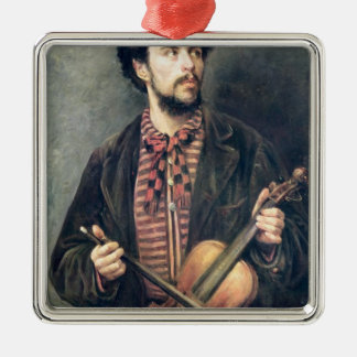 The Violin Player Christmas Ornament