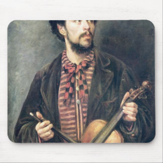 The Violin Player Mouse Mat