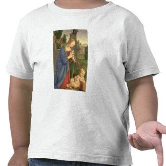 The Virgin Adoring the Child 1490-1500 Tshirts