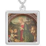 The Virgin Adoring the Christ Child Pendant