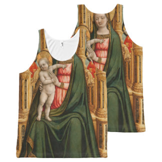 """The Virgin and Child"" art tanktop All-Over Print Tank Top"