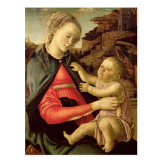 The Virgin and Child  c.1465-70 Postcard