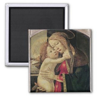 The Virgin and Child, c.1500 Square Magnet