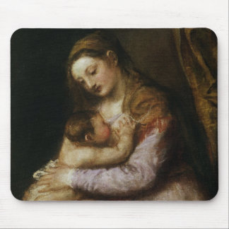 The Virgin and Child c 1570-76 Mouse Pads