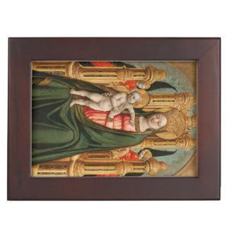 The Virgin and Child custom keepsake box