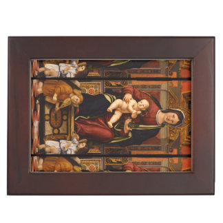 """The Virgin and Child"" custom keepsake box"