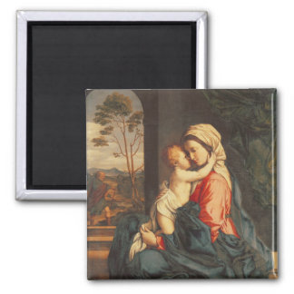 The Virgin and Child Embracing Magnet