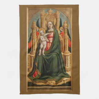 """""""The Virgin and Child"""" hand towel"""