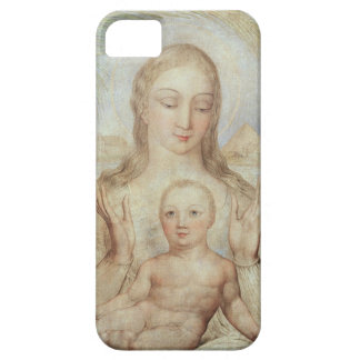 The Virgin and Child in Egypt, 1810 (tempera on pa iPhone 5 Cases