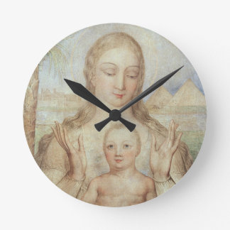 The Virgin and Child in Egypt, 1810 (tempera on pa Round Clock