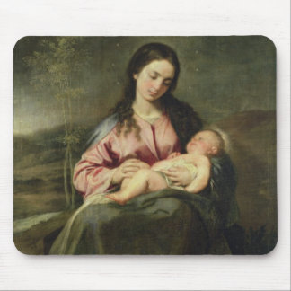 The Virgin and Child Mousepads