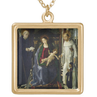 The Virgin and Child (oil) Jewelry