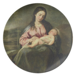The Virgin and Child Plate