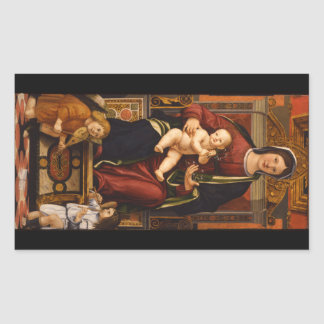 """""""The Virgin and Child"""" stickers"""