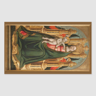 The Virgin and Child stickers
