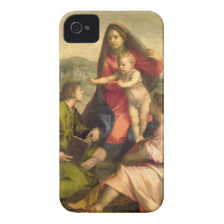The Virgin and Child with a Saint and an Angel, c. Case-Mate iPhone 4 Case