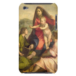 The Virgin and Child with a Saint and an Angel, c. iPod Touch Case-Mate Case