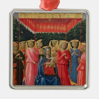 The Virgin and Child with Angels, c.1440-50 Christmas Ornament