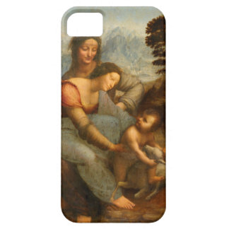 The Virgin and Child with St. Anne by Da Vinci iPhone 5 Cover