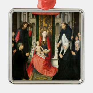 The Virgin and Child with St. James & St. Dominic Christmas Ornament
