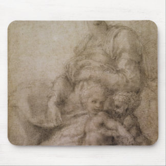 The Virgin and Child with the infant Baptist Mouse Pad