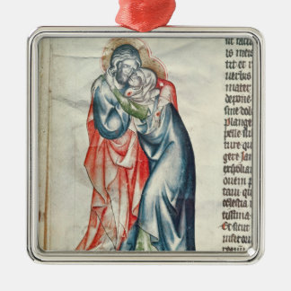 The Virgin and Christ, from the Passion of Christmas Ornament