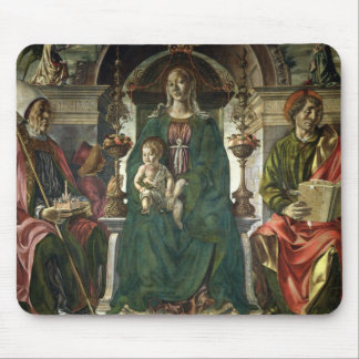 The Virgin and Saints, 1474 Mouse Pads