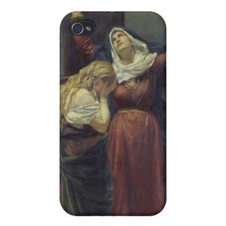The Virgin at the Foot of the Cross iPhone 4/4S Cases