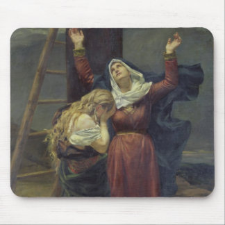 The Virgin at the Foot of the Cross Mouse Mat