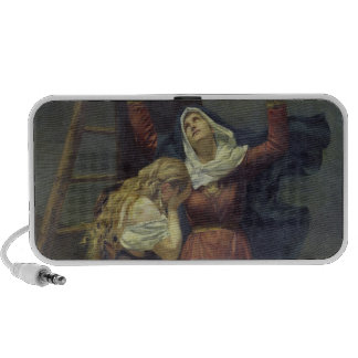 The Virgin at the Foot of the Cross Portable Speakers