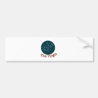 The virgin bumper sticker