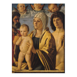 The Virgin & Child with St. Peter & St. Postcard