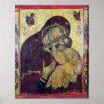 The Virgin Eleousa, from Nessebar Poster