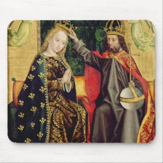 The Virgin Enthroned, from the Dome Altar, 1499 Mouse Pad