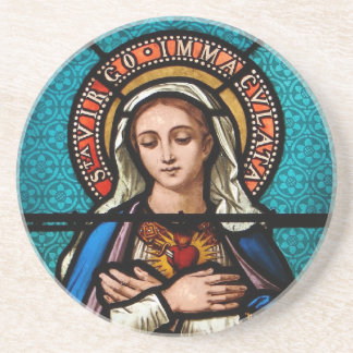 The Virgin Mary Coaster