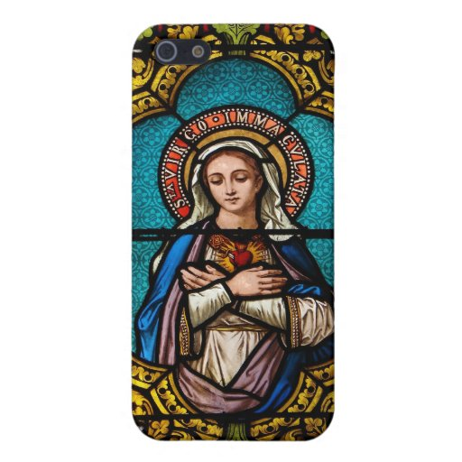 The Virgin Mary Cover For iPhone 5