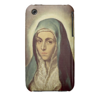 The Virgin Mourning (oil on canvas) iPhone 3 Case