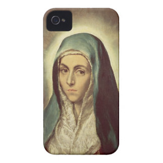 The Virgin Mourning (oil on canvas) Case-Mate iPhone 4 Case
