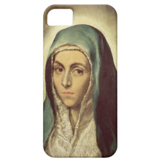 The Virgin Mourning (oil on canvas) iPhone 5 Covers