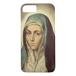The Virgin Mourning (oil on canvas) iPhone 8/7 Case