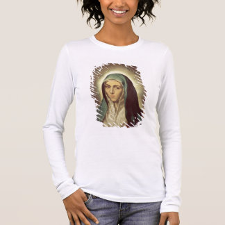 The Virgin Mourning (oil on canvas) Long Sleeve T-Shirt