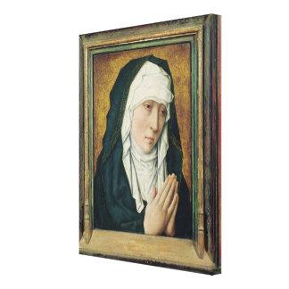 The Virgin of Sorrow Canvas Print
