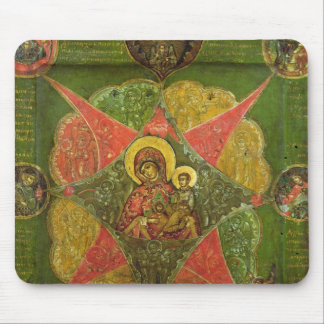 The Virgin of the Burning Bush, from Mount Athos Mouse Pad