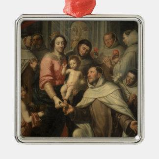 The Virgin of the Carmelites Christmas Ornament