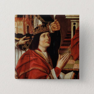 The Virgin of the Catholic Kings 15 Cm Square Badge