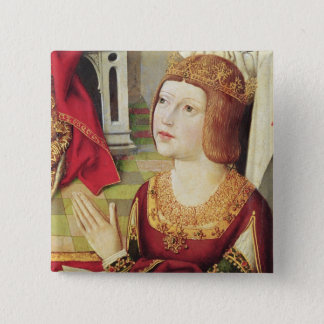 The Virgin of the Catholic Kings 2 15 Cm Square Badge